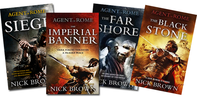Agent of Rome series